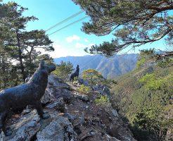 オオカミ(山犬)像